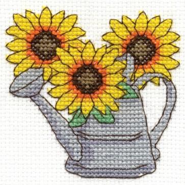DMC Cross Stitch Kit - Flowers - Sunflowers
