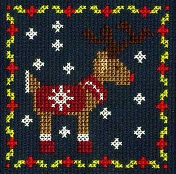 DMC Counted Cross Stitch Kit - Reindeer