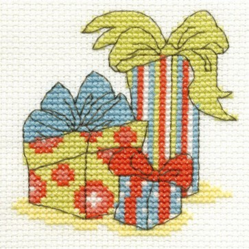 DMC Cross Stitch Kit - Mini Christmas Kit - Christmas Gifts