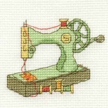 DMC Cross Stitch Kit - Vintage - Sewing Machine