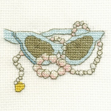 DMC Cross Stitch Kit - Vintage - Glasses