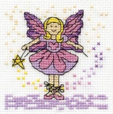 DMC Cross Stitch Kit - Make A Wish - Be A Fairy