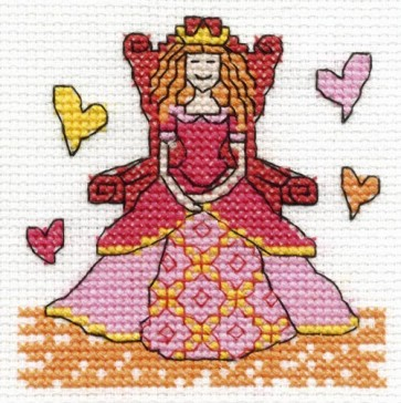 DMC Cross Stitch Kit - Make A Wish - Be A Princess