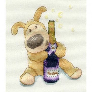 DMC Cross Stitch Kit - Boofle - Time To Celebrate