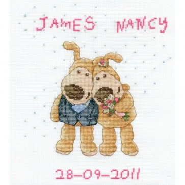 DMC Cross Stitch Kit - Boofle - Happily Ever After