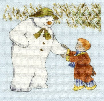 DMC Cross Stitch Kit - Christmas - James And The Snowman