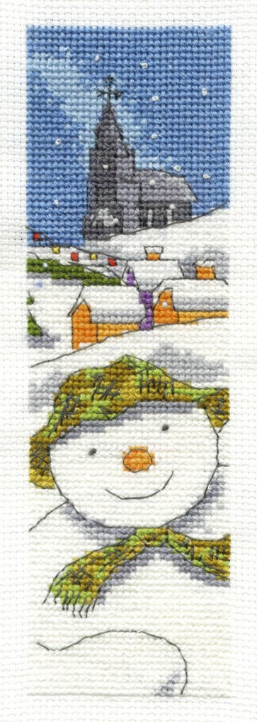 The Snowman Bookmark - Christmas - BL1023/64