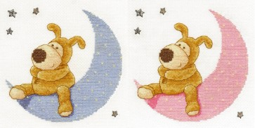 DMC Cross Stitch Kit - Boofle - Boofle Wishing On A Star