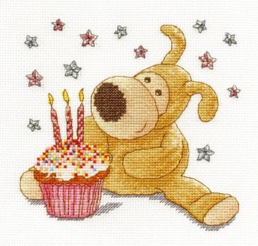 DMC Cross Stitch Kit - Boofle - Boofle Make A Wish
