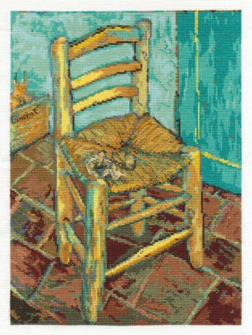 DMC Cross Stitch Kit - The National Gallery - Van Gogh's Chair