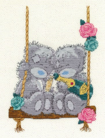 DMC Cross Stitch Kit -Tatty Teddy - Let's Celebrate
