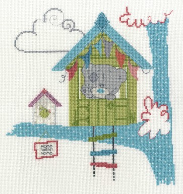 DMC Cross Stitch Kit - Tatty Ted - Home Tweet Home