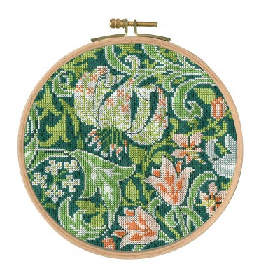 DMC Counted Cross Stitch Kit - J.H. Dearle - Golden Lily