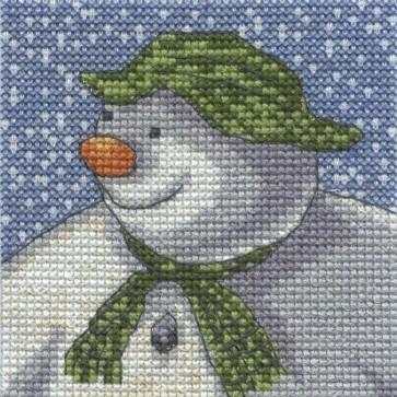 DMC Cross Stitch Kit - The Snowman - It's Snowing