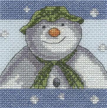 DMC Cross Stitch Kit - The Snowman - Snowflakes