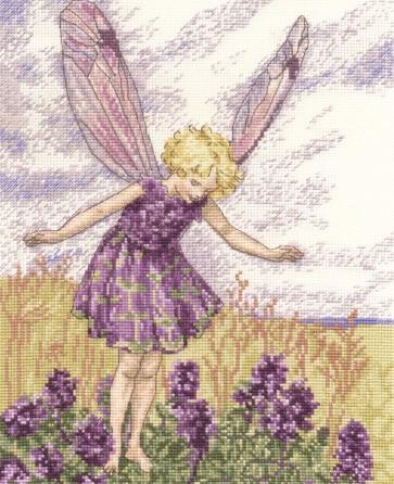 DMC Cross Stitch Kit - Flower Fairies - The Wild Thyme Fairy