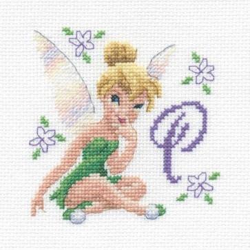 DMC Cross Stitch Kit - Disneys Tinker Bell - Tinker Bell Initial