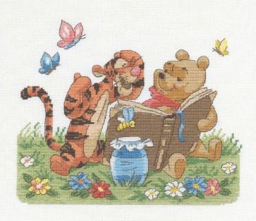 DMC Cross Stitch Kit - Disney Winnie The Pooh - Winnie And Tigger