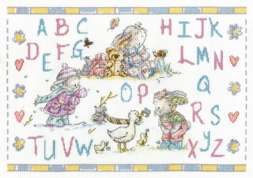 DMC Cross Stitch Kit - Somebunny To Love - Somebunny Seasons