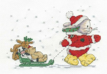 DMC Cross Stitch Kit - Somebunny To Love - Room For One More