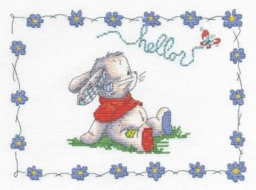 DMC Cross Stitch Kit - Somebunny To Love - Hello Bunny