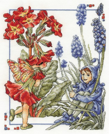 The Polyanthus and Grape Hyacinth Fairies - Flower Fairies - BL789/56