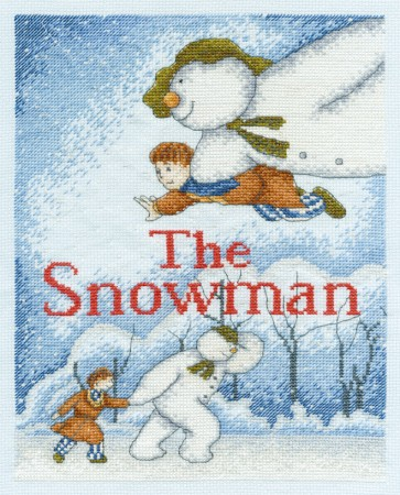 DMC Cross Stitch Kit - Christmas - The Snowman Sampler