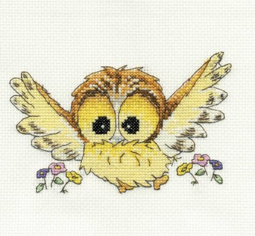 DMC Cross Stitch Kit - Woodland Folk - Ollie Owl
