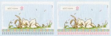 DMC Cross Stitch Kit - Lickle Ted - Lickle Sleepy Heads