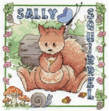 Sally Squirrel - Woodland Folk - BL863/65