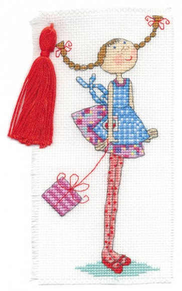 DMC Cross Stitch Kit - Lili Loves - Lili Loves Stories
