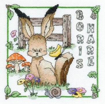 DMC Cross Stitch Kit - Woodland Folk - Boris Hare