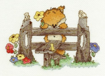 DMC Cross Stitch Kit - Woodland Folk - Picked For You