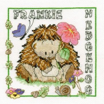 DMC Cross Stitch Kit - Woodland Folk - Frankie Hedgehog