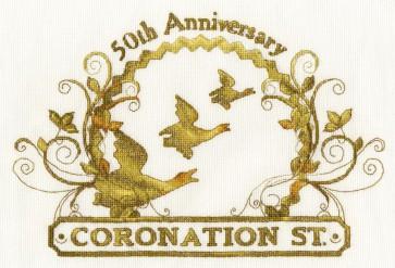 DMC Cross Stitch Kit - Coronation Street - 50th Anniversary