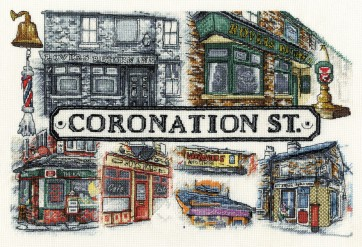 The Street Now and Then - Coronation Street - BL954/67