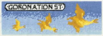 DMC Printed Tapestry Kit - Coronation Street - Hilda's Flying Ducks