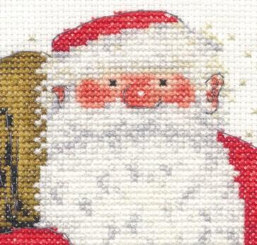 DMC Cross Stitch Kit - Christmas - Father Christmas