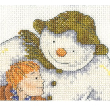 DMC Cross Stitch Kit - Christmas - The Snowman Flying