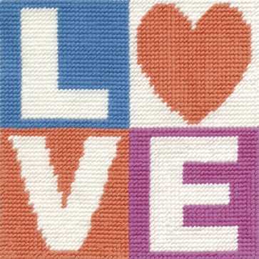 DMC Childrens Tapestry Kit - Love - C048K