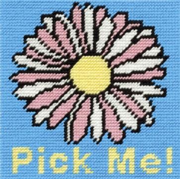 DMC Childrens Tapestry Kit - Flower - C049K