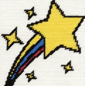 DMC Childrens Tapestry Kit - Shooting Star - C053K