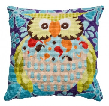 DMC Tapestry Cushion Kit - Owl - C054K