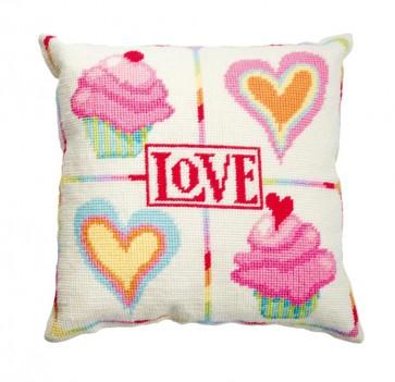 DMC Tapestry Cushion Kit - Love - C055K