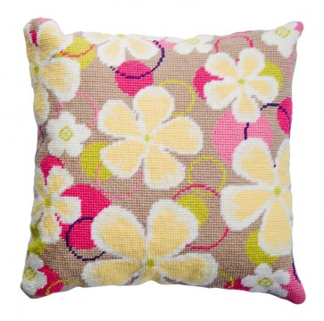 DMC Tapestry Cushion Kit - Flowers - C056K
