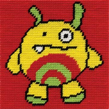 DMC Childrens Tapestry Kit - Patch - C063K