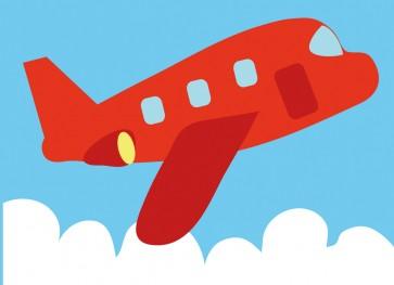 DMC Childrens Tapestry Kit - Plane - C09N176K