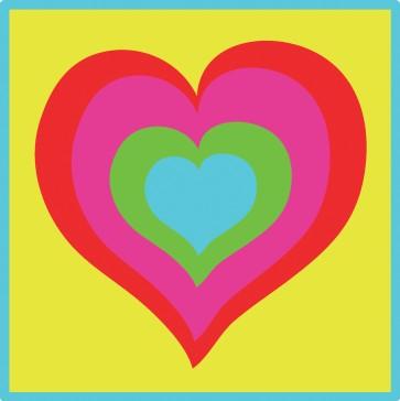DMC Childrens Tapestry Kit - Colourful Heart - C09N181K