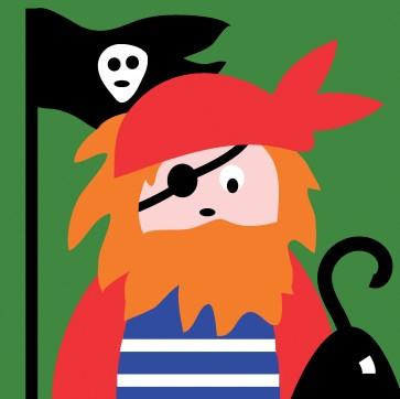 DMC Childrens Tapestry Kit - Pirate - C09N196K