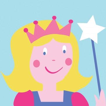 DMC Childrens Tapestry Kit - Princess - C09N205K